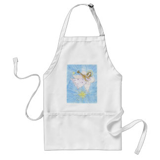 Musical Angel Adult Apron