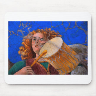 Musical Angel Basking in the Light of Heaven 1 Mouse Pad