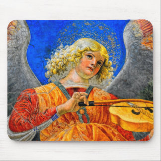 Musical Angel Basking in the light of Heaven 2 Mouse Pad