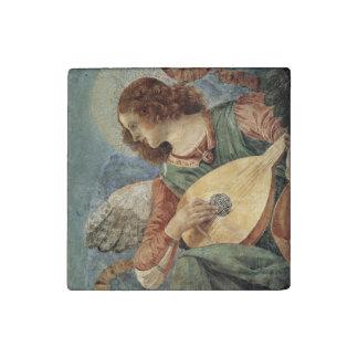 Musical Angel by Melozzo da Forli Stone Magnet