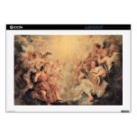 "Musical Angel by Paul Rubens 17"" Laptop Decals"