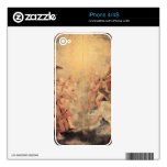 Musical Angel by Paul Rubens Skins For The iPhone 4