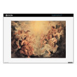"Musical Angel by Paul Rubens Decals For 15"" Laptops"