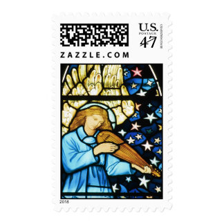 Musical Angel by William Morris Postage