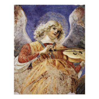 MUSICAL ANGEL POSTER
