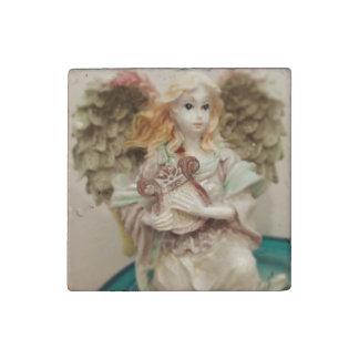 Musical Angel Stone Magnet