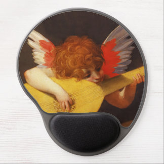 Musical Angel Vintage Christmas Gel Mouse Pad