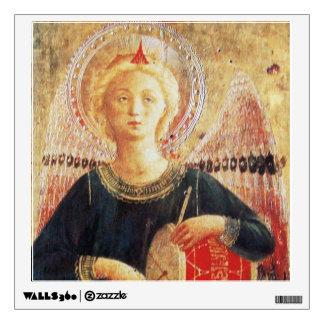 MUSICAL ANGEL WALL STICKER