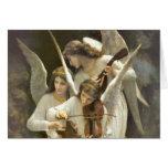 Musical Angels Card Greeting Card