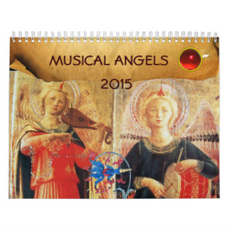 MUSICAL ANGELS  FINE ART COLLECTION   2015 CALENDAR
