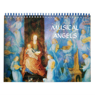 MUSICAL ANGELS  FINE ART COLLECTION   2016 CALENDAR