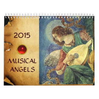 MUSICAL ANGELS  FINE ART COLLECTION   2017 CALENDAR