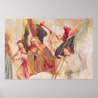 Musical Angels Print