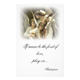 Musical Angels Stationery
