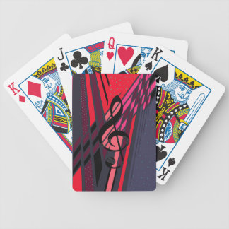 Musical Art Dimensions Bicycle Playing Cards