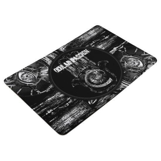 Musical Awakening (Blk&White) Floor Mat