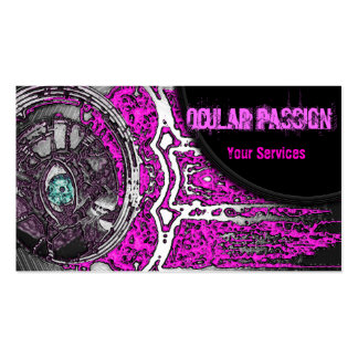 Musical Awakening (Pink) Double-Sided Standard Business Cards (Pack Of 100)