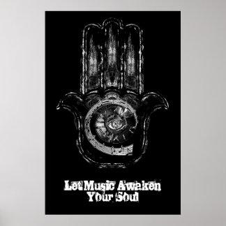 Musical Awakening Print