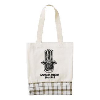 Musical Awakening Zazzle HEART Tote Bag