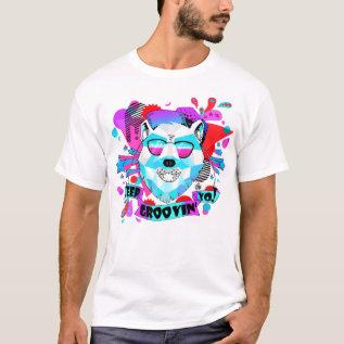 Musical Bear T-shirt at Zazzle