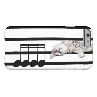 Musical bengal kitty cat barely there iPhone 6 case