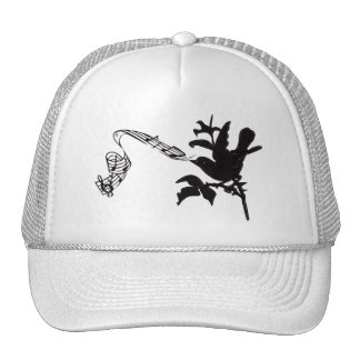 Musical Bird Change Colors Mesh Hat