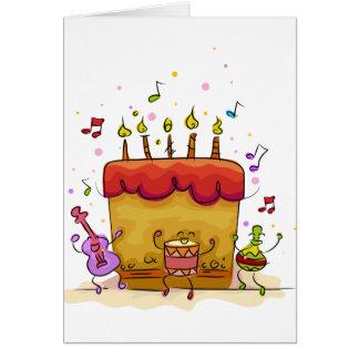 Musical Birthday Cake Card