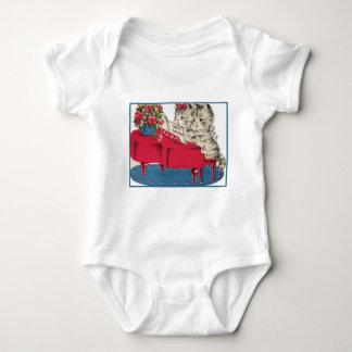 Musical Birthday Kittens T-shirt