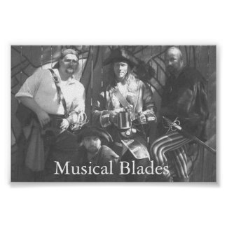 Musical Blades Poster