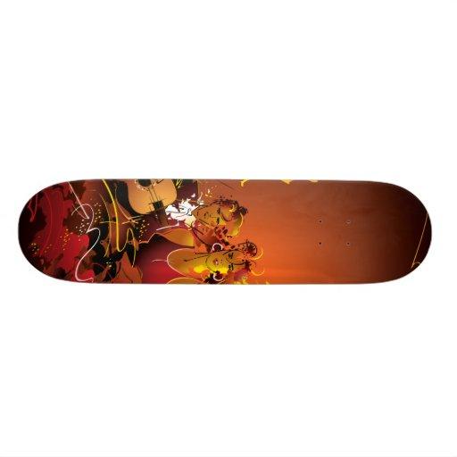Musical Board Skateboard