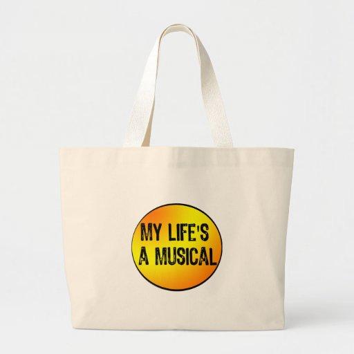Musical Bolsa Tela Grande