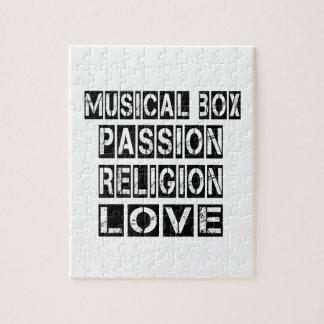 Musical box Designs Jigsaw Puzzle