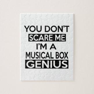 MUSICAL BOX GENIUS DESIGNS JIGSAW PUZZLES