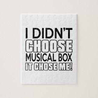 MUSICAL BOX GENIUS DESIGNS PUZZLE
