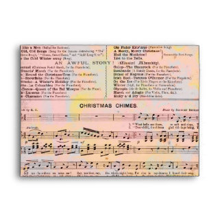 Musical Budget Christmas Envelopes