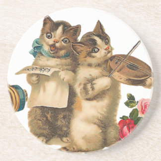 Musical Cats Coaster