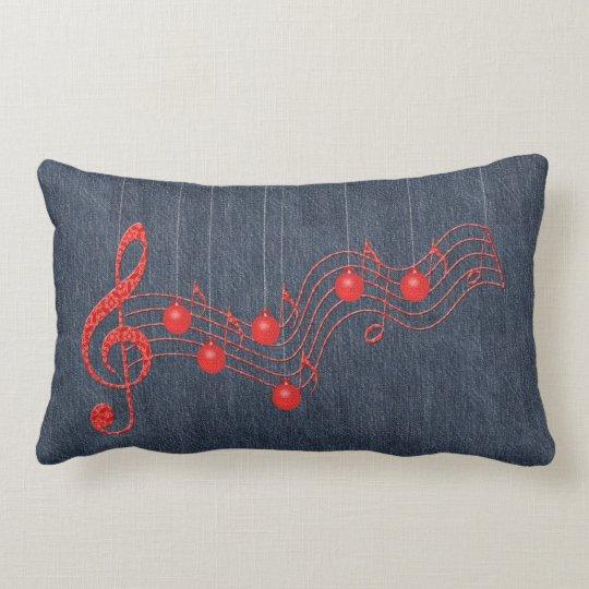 Musical Celebration Lumbar Pillow