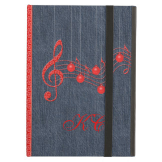 Musical Celebration Red Lace iPad Air Case