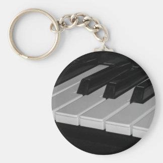 Musical Chaveiro Basic Round Button Keychain