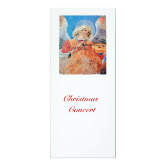 MUSICAL CHRISTMAS ANGEL CARD