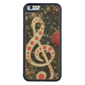 Musical Christmas Carved® Maple iPhone 6 Bumper Case
