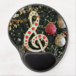 Musical Christmas Gel Mouse Pad