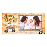 Musical Christmas Greetings Photo Card