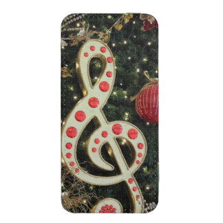 Musical Christmas iPhone 5 Pouch