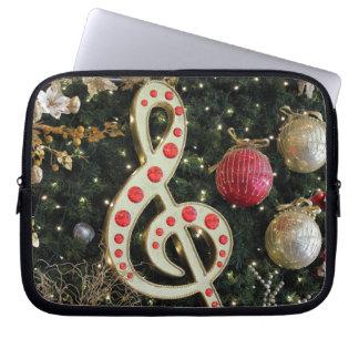 Musical Christmas Computer Sleeve