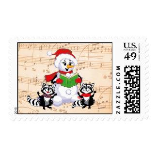 Musical Christmas Postage