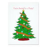 Musical Christmas Tree 5x7 Paper Invitation Card