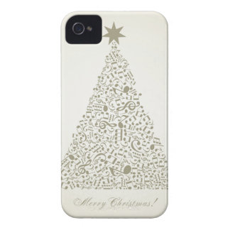 Musical Christmas tree Case-Mate iPhone 4 Case
