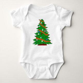 Musical Christmas Tree Infant Creeper