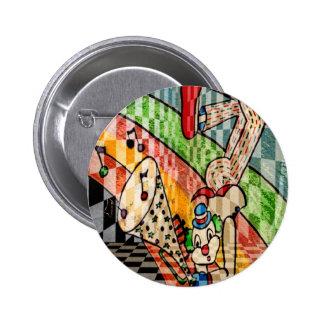 MUSICAL CLOWN.jpg Pinback Buttons